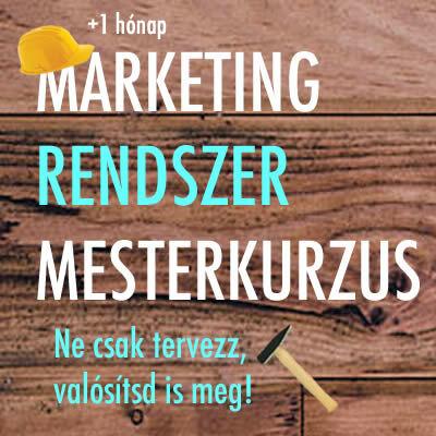Láblógató tréning + Marketing rendszer mesterkurzus
