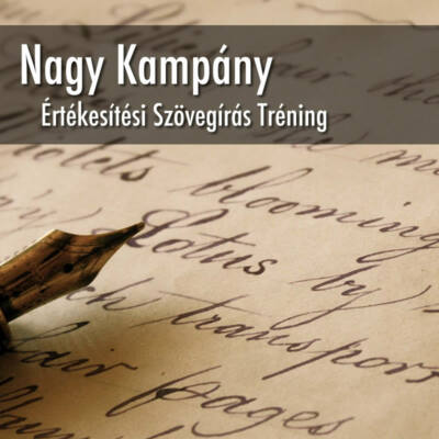 Nagy Kampány Szövegírás Tréning