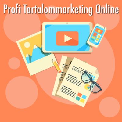 Profi Tartalommarketing Online